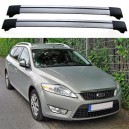 Ford Mondeo MK4 IV 5dr Estate 2007+ Roof Aero Cross Bars Spoiler Set