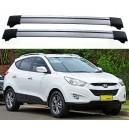 Hyundai Tucson ix35 LM 2009+ Roof Aero Cross Bars Spoiler Set