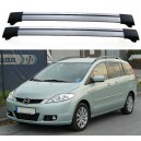 Mazda 5 5dr MPV 2005+ Roof Aero Cross Bars Set