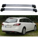 Mazda 6 GH 5dr Estate 2008+ Roof Aero Cross Bars Set