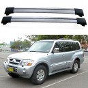 Mitsubishi Pajero Shogun MK3 1999–2006 Roof Aero Cross bars Set