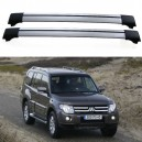 Mitsubishi Pajero Shogun MK4 2006+ Roof Aero Cross bars Set