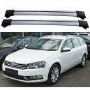 Volkswagen Passat B7 5dr Estate 2010+ Roof Rack Aero Cross Bars