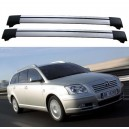 Toyota Avensis 5dr Estate 2003+ Roof Rack aero Cross Bars Set