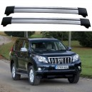 Toyota Land Cruiser 150 Prado 2010+ Roof Rack Aero Cross Bars Set