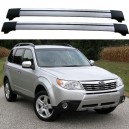 Subaru Forester 5dr 4x4 2008+ Roof Rack Aero Cross Bars Set