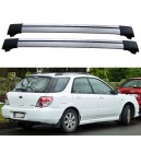Subaru Impreza 5dr Estate 2001-2007 Roof Rack Aero Cross Bars Spoiler Set