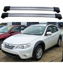Subaru Impreza 5dr Estate 2009+ Roof Rack Aero Cross Bars Spoiler Set