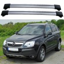 Opel Antara 2007+ Roof Rack Cross Bars Set